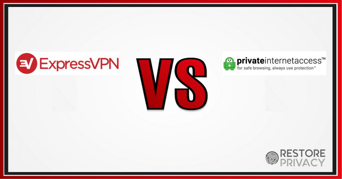ExpressVPN vs Private Internet Access (PIA) 2019 (One Clear Winner)