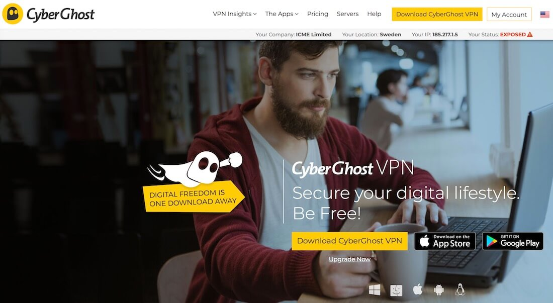 CyberGhost VPN: In-Depth Review (Why It is NOT Recommended)