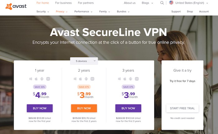 Avast Secureline Vpn Review Is It Collecting Your Data